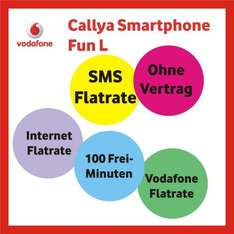 [Amazon - UPDATE] Callya Smartphone Fun L - 3 Monate für 12,81 €