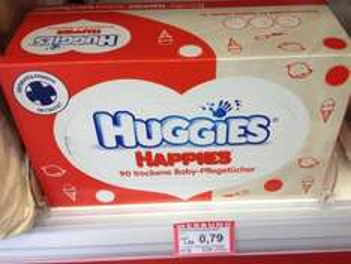 Rossmann - Huggies Happies 0,79€