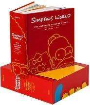 Mega Simpsons Buch mit Infos zu Staffeln 1 - 20