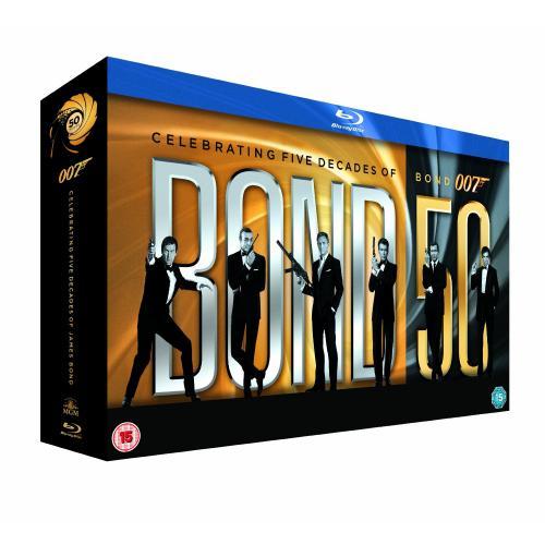 The Complete James Bond Collection für 99,35 Euro( UK Box) @ Hut.com