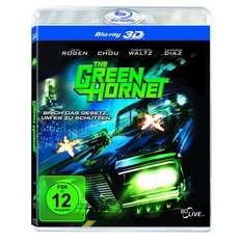 (eher Österreich) The Green Hornet 3D Blu-Ray für 4,99Euro ohne Versand ,  weiter Blu-ray in der Beschreibung