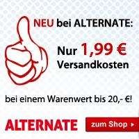 1,99€ Versandkosten bei ALTERNATE....