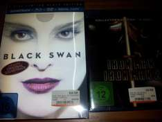 [Lokal Mediamarkt Berlin] Black Swan Limited Black Edition BD 10€ | Iron Man 1+2 BD 5€