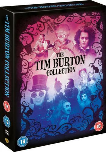 [ 8 DVDs ] Tim Burton Collection DVD Box für 14,56 EUR inkl. Versand @ zavvi.com