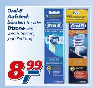 [offline @ real] Oral-B Precision Aufsteckbürsten - 3er Pack für 6,49 Euro