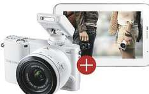 SAMSUNG NX1000 20-50mm Bundle inkl. Galaxy Tab 2 7.0 WiFi