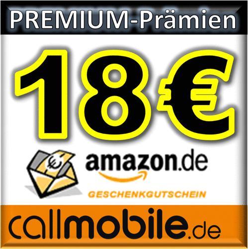 callmobile SIM-Karte + 18,00 EURO AMAZON Gutschein