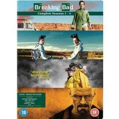 (UK) Breaking Bad - Season 1-4 Complete [15 x DVD] für umgerechnet ca. 45.31€ @ Amazon.UK