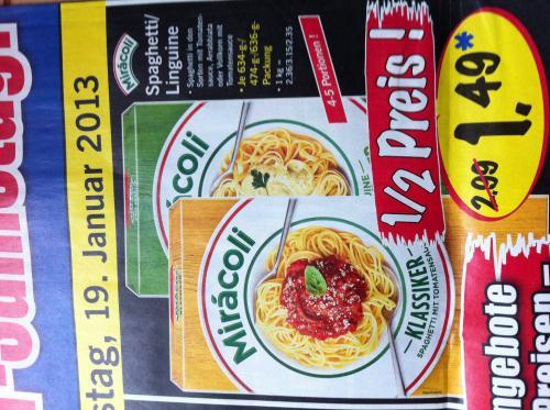 Miracoli Spaghetti & Linguine 1,49€ @ lidl