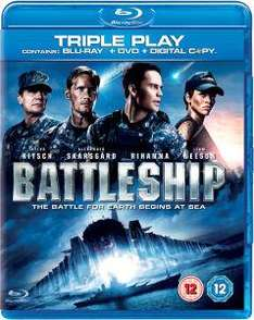 [THEHUT] Battleship Triple Play (Blu-Ray, Digital Copy, DVD)