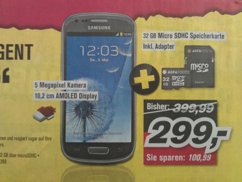 Galaxy S 3 MINI bei Promarkt