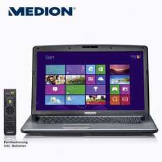 "Medion Notebook Akoya P7818 - 17,3"" (43,9 cm), Core i3-3110M, GeForce GT 730M, 1 TB HDD, DVB-T, Windows 8 @ Aldi Nord"