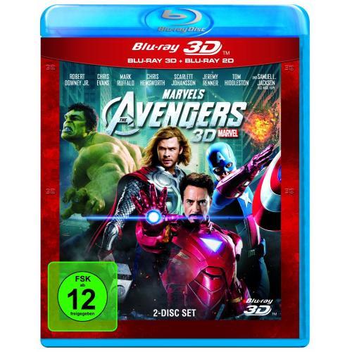 3D Disney Blurays - The Avengers, Merida, Rapunzel neu verföhnt  uvm. 19,99 EUR @Müller - lokal Dresden?