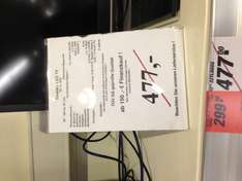 ?Lokal? Offenbach TOOM - Toshiba LED TV 32TL868 TripleTuner 3D USB