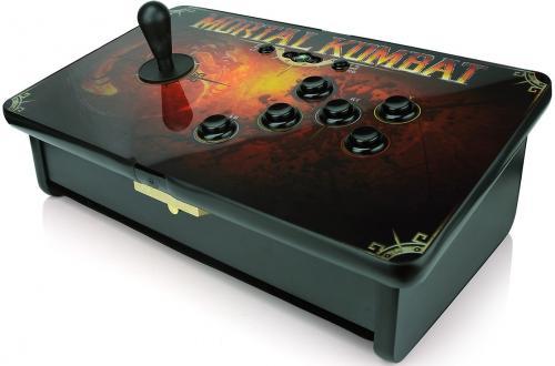 [ebay] Mortal Kombat Ultimate Edition mit Arcade Stick ( xbox 360, PS3 )