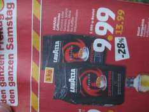 Lavazza Caffecrema Classico oder Gustoso bei Penny für 9,99 Euro (nur am 18. + 19.01.13)