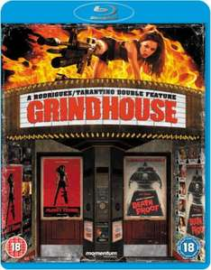(UK) Grindhouse a Rodriguez/Tarantinos Double Feature - Death Proof + Planet Terror [2 x Blu-Ray] für umgerechnet ca. 10.21 € @ thehut