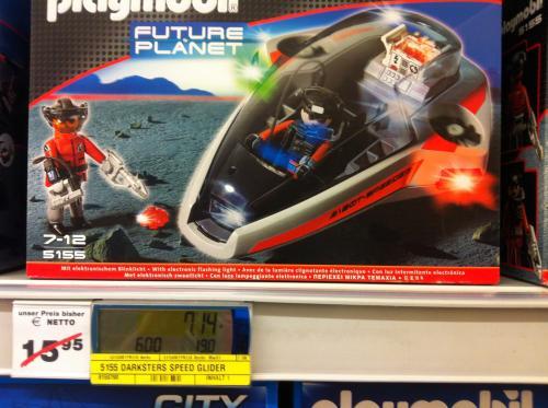 [LOKAL: METRO Korntal (deutschlandweit?) ] Playmobil Future Planet Darksters Speed Glider (5155)