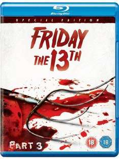 (UK) Friday The 13th: Part 3 (Special Edition) [Blu-ray] inkl. deutscher Tonspur für €4.99 @ play