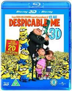 (UK)  Ich-Einfach unverbesserlich (Despicable Me) in 3D  [2 x Blu-ray] für 8.37 € @ Zavvi
