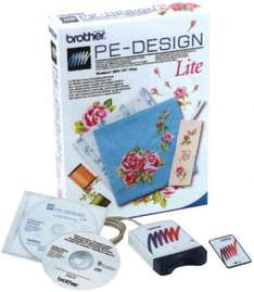 Brother Sticksoftware PE-Design lite 71% unter Idealo