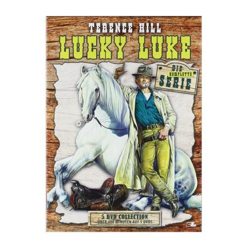 """[amazon.de] """"Lucky Luke - Die Serie (DVD Box)"""" mit Terence Hill für 13,97€ inkl. Versand (10,97€ für PRIME-Kunden)"""