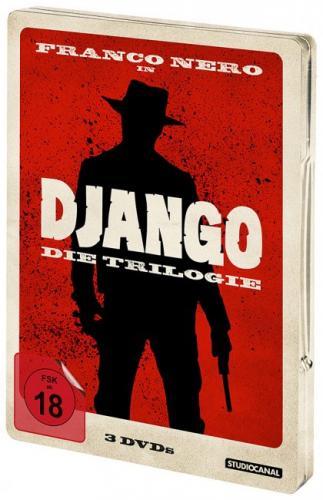 """[media-dealer.de] """"Django - Die Trilogie - Steel Edition (DVD)"""" FSK 18 für 19,55€ (inkl. 2,99€ Versand) - ab 30€ versandkostenfrei"""