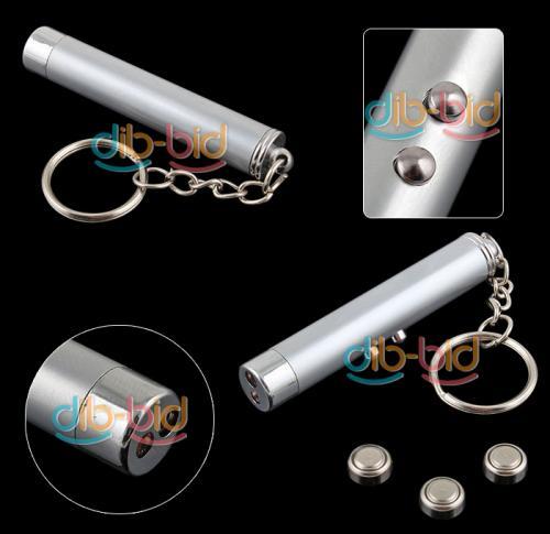 Schlüsselanhänger LED+Laserpointer 0,76 EUR inkl. Lieferung