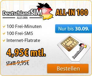 DeutschlandSim All-in-100 für 4,95€ [evtl. nur für Xbox User]