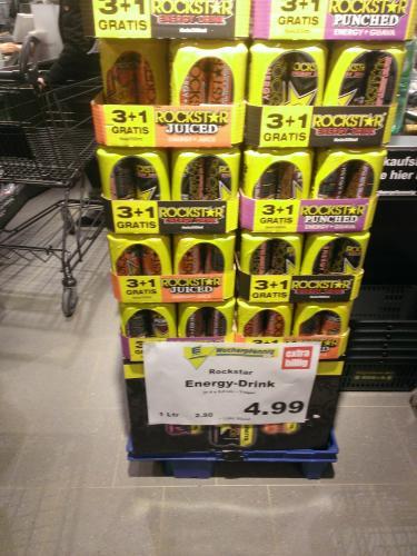 [lokal Hannover] Rockstar Energy 4er Pack - alle Sorten - 1,25€ pro Dose (0,5l)