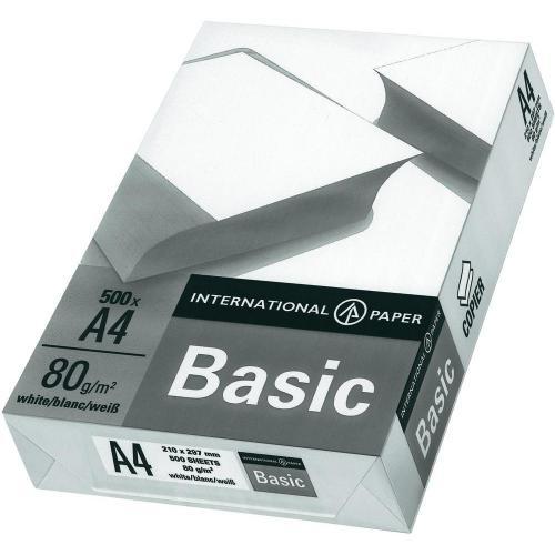 8x500 Blatt Kopierpapier DIN A4, 80 g/m²  (2,07€ je 500 Blatt)