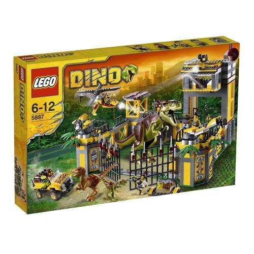 Lego 5887 Dinosaurier Forschungsstation für 44,44 Euro inkl. Versand und weitere Lego Dino Artikel stark reduziert @Galeria Kaufhof (online)