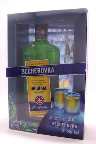 [Lokal-Berlin] Becherovka 0,7 l + 2 Shotgläser