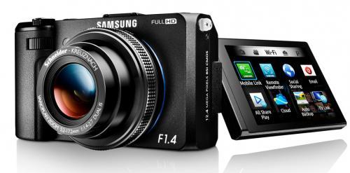 Samsung EX2F schwarz