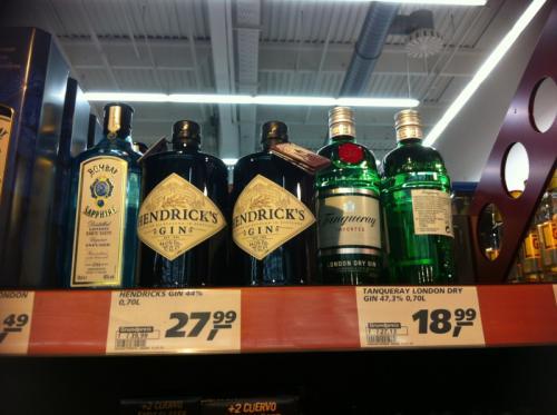Hendricks Gin 0,7l bei real Wiesbaden für 27,99€