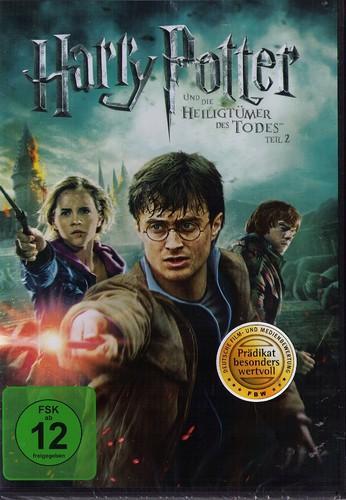 Harry Potter und die Heiligtümer des Todes Teil 2 [DVD] für nur 8,99,- EUR inkl. Versand!