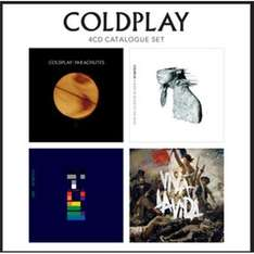 "CD - Coldplay ""4 CD Catalogue Set"" (4 Discs) für €13,75 [@Play.com]"