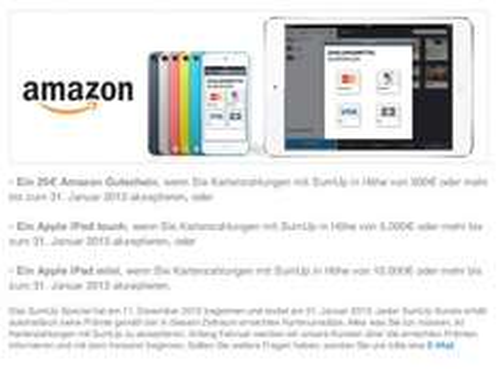 [Selbstständige] iPod touch 5G 137,50€ oder iPad mini 278€