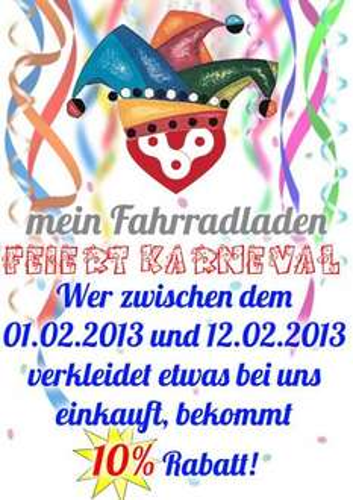 [Mönchengladbach] Karnevals Sonderangebot - 10% @ MeinFahrradladen