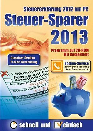 Steuer Sparer 2013