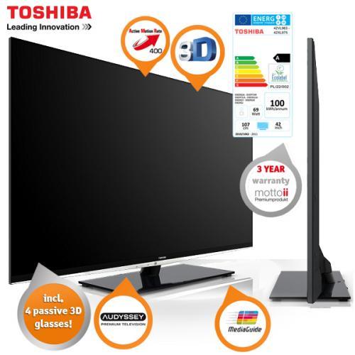Toshiba 42XL975G für 709 Euro und 29 Euro Cashback @ibood