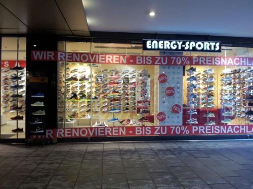 [Lokal Hannover] Energy Sports - Schuhe  bis 70% reduziert
