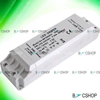 LED Trafo Treiber für LED Lampen 240V - 12V 30W nur 8,79 Euro inkl. Versand @Ebay