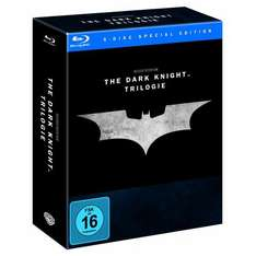 [Müller][evtl. lokal] - The Dark Knight Trilogy für 32,99€