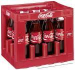 14 Flaschen Coca Cola / Fanta @ Globus (0,566€/Liter, PET Liter Kiste + 2 Flaschen )