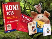 KONZ Steuerspar-Paket 2013  für 50% gegenüber Amazon!
