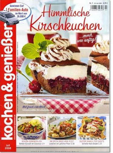 """Zeitschrift """"kochen und genießen"""" für 2 Jahre nur 3,20€ nur bis 23.1."""