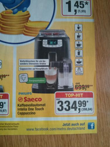 [METRO] Philips Saeco HD8753/11 Kaffeevollautomat