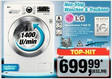 Metro: LG Waschtrockner F14A8 YD