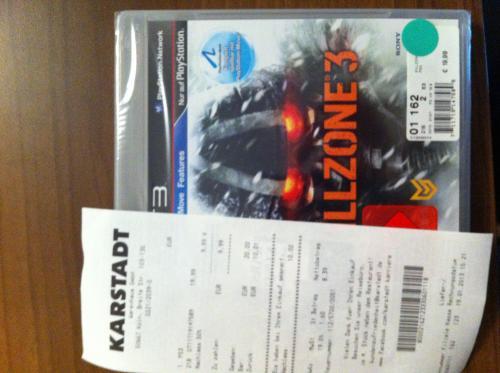 PS3 Killzone 3 - 9,99€